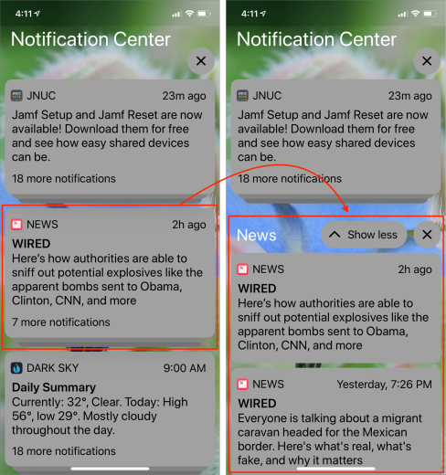 Grouped-Notifications