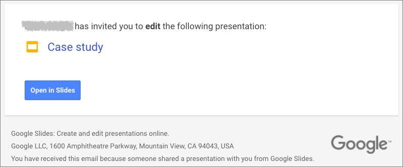 Accept-Google-invite
