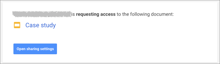 Request-access-email