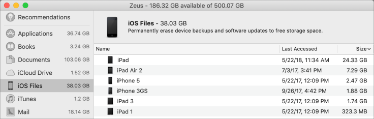 Storage-Management-iOS-Files